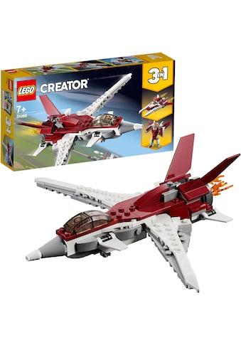 """LEGO® Konstruktionsspielsteine """"Flugzeug der Zukunft (31086), LEGO® Creator"""", Kunststoff, (157 - tlg.) kaufen"""