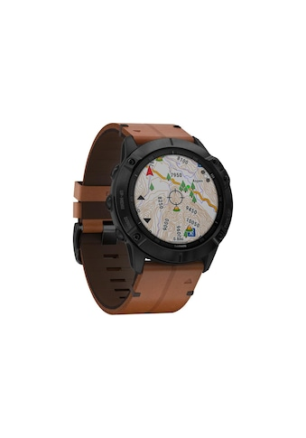Garmin Smartwatch »fenix 6X Sapphire Schwarz« ( kaufen