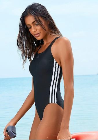 adidas Performance Badeanzug, im sportlichen 3-Streifen-Design kaufen