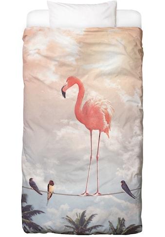 Juniqe Bettwäsche »Flamingo and Friends«, In vielen weiteren Designs erhältlich kaufen