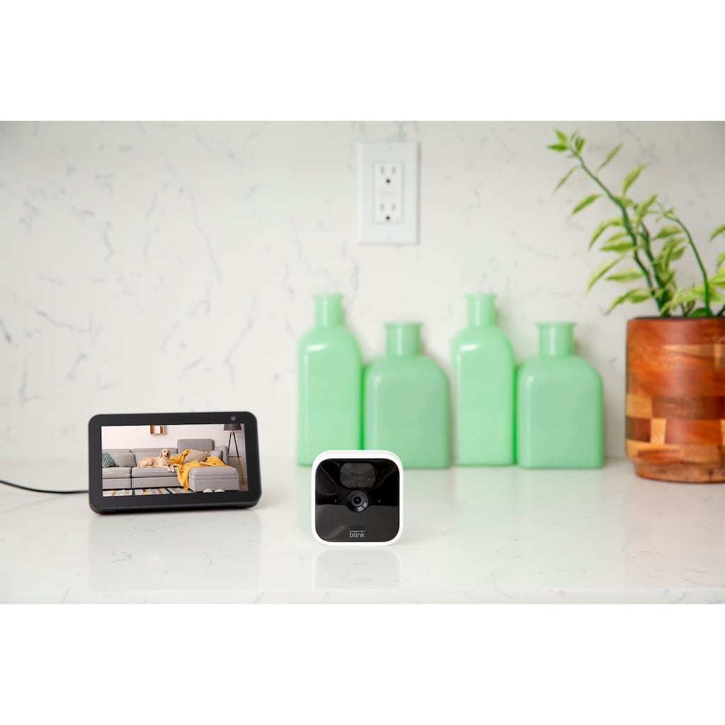 blink Überwachungskamera »Indoor 4-Kamera-System«, Innenbereich