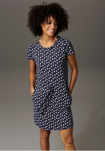 Aniston CASUAL Sommerkleid, mit Palmen oder Punkten bedruckt - Du hast die Wahl kaufen