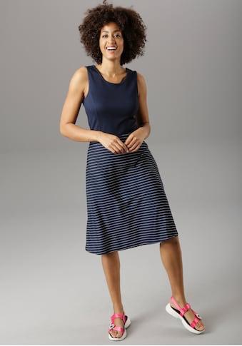 Aniston SELECTED Sommerkleid, im maritimen Stil kaufen