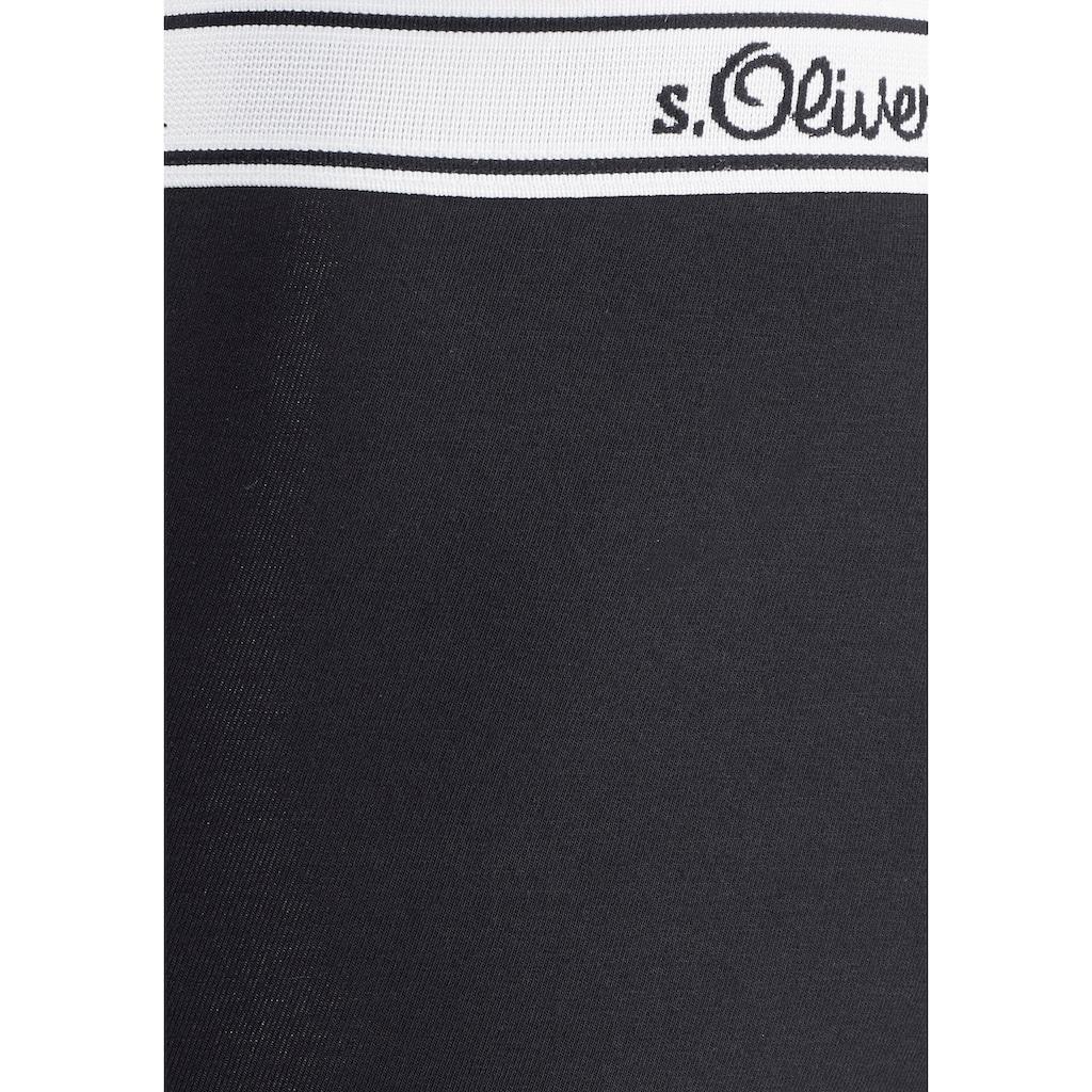 s.Oliver Bodywear Boxer, mit weissem Webbund