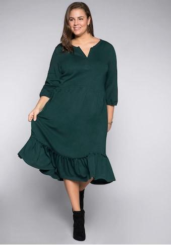 Sheego Shirtkleid, mit Alloverdruck kaufen