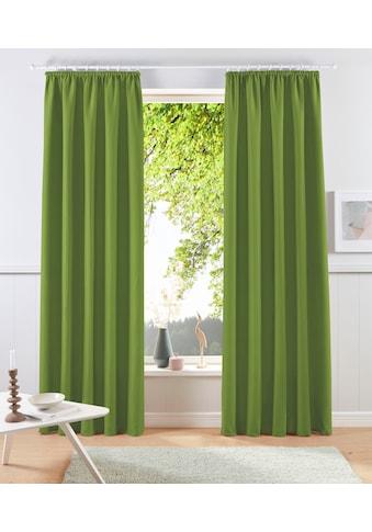 my home Gardine »Raja«, Vorhang, Fertiggardine, blickdicht kaufen