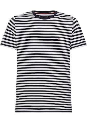 TOMMY HILFIGER T-Shirt »STRETCH SLIM FIT TEE« kaufen