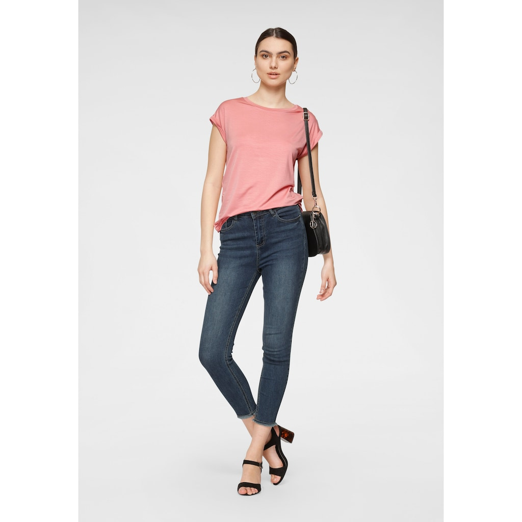 HaILY'S High-waist-Jeans »TONI«, in Ankle-Länge
