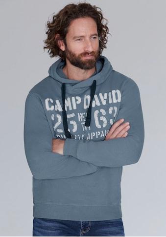 CAMP DAVID Kapuzensweatshirt, mit grossem Frontprint kaufen