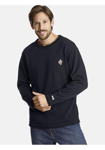Jan Vanderstorm Rundhalspullover »HOLMER«, bequemer Basic-Pullover kaufen