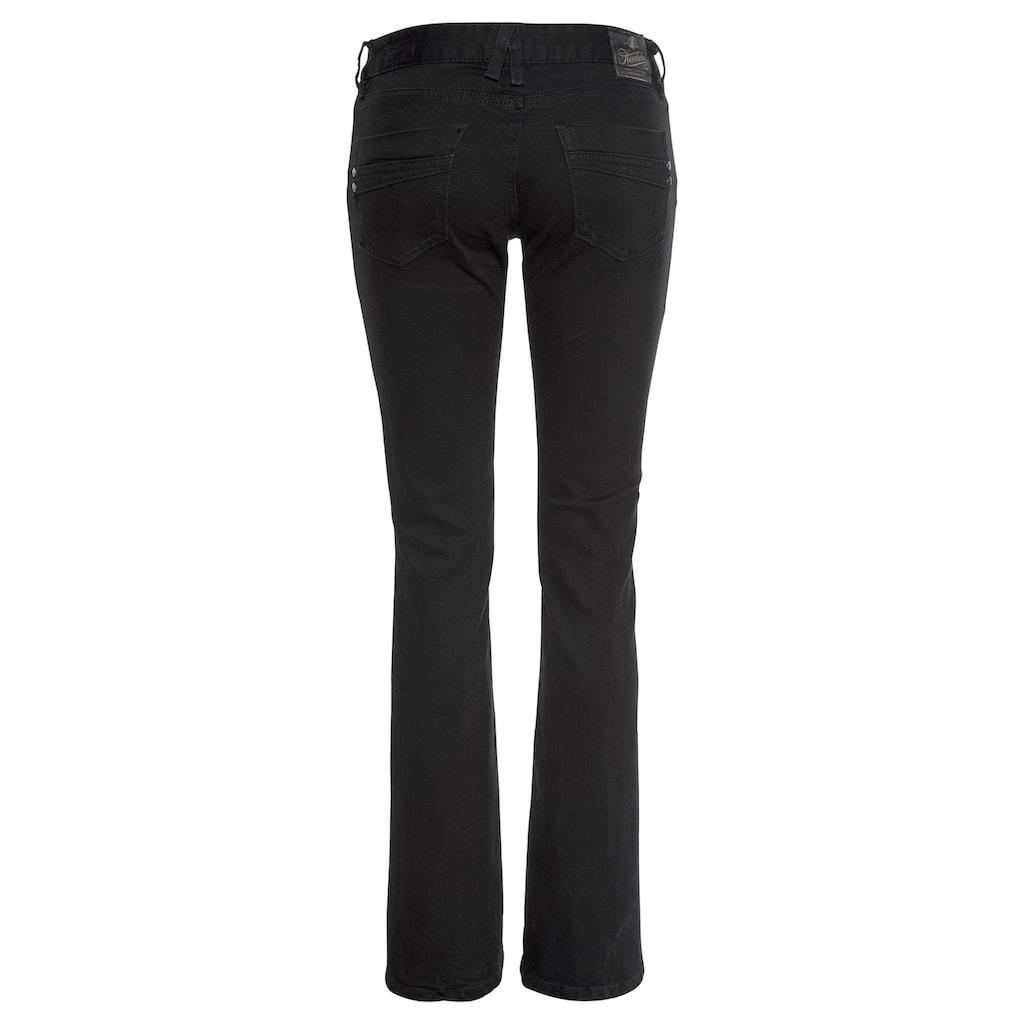 Herrlicher Bootcut-Jeans »DORO FLARE«, High Performance Denim