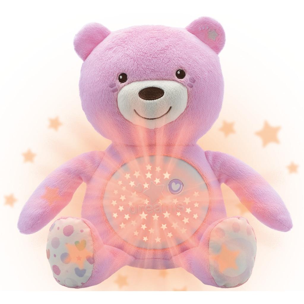 Chicco Kuscheltier »First Dreams Baby Bär, Rosa«, mit Lichtprojektion und Soundfunktion