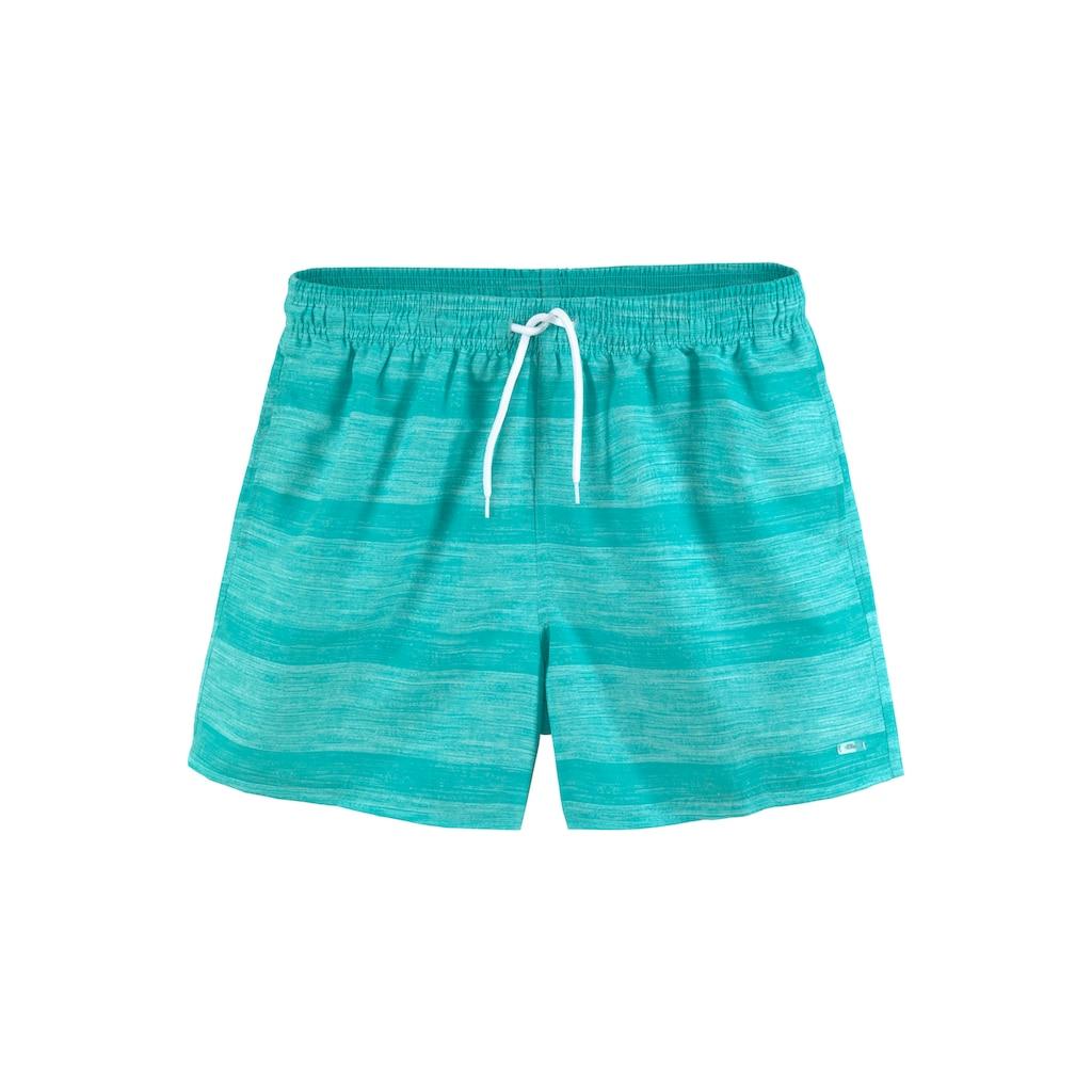 s.Oliver Beachwear Badeshorts, meliert