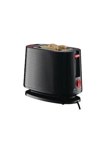 Bodum Toaster »Bistro Schwarz«, für 2 Scheiben, 940 W kaufen