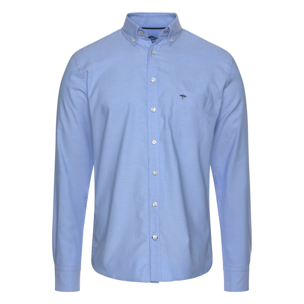FYNCH-HATTON Karohemd, mit Button-Down-Kragen