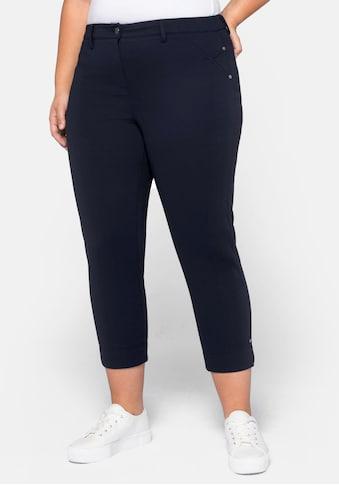 Sheego 7/8-Hose, aus elastischem Jersey kaufen