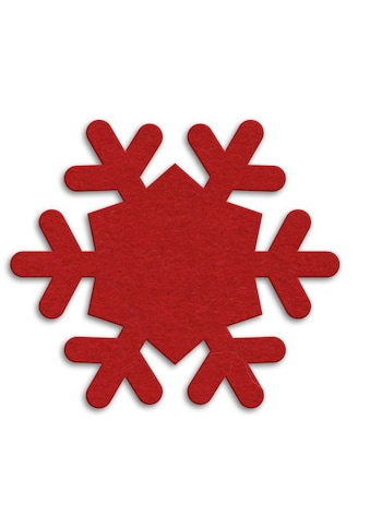 Wall-Art Tischdecke »Runde Filzdecke Schneeflocken« kaufen