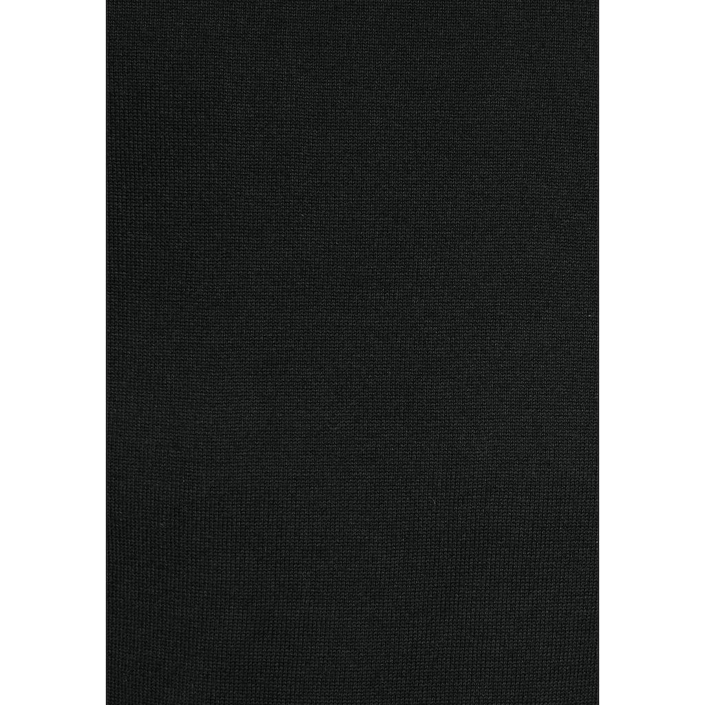 edc by Esprit Strickpullover, mit coolen Rollsäumen