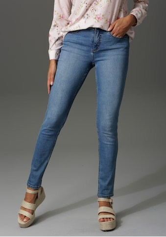 Aniston CASUAL Slim-fit-Jeans, regular Waist kaufen