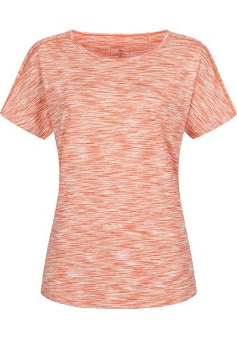 DEPROC Active Funktionsshirt »MORAY MELANGE WOMEN«, Funktionsshirt in Melangeoptik kaufen
