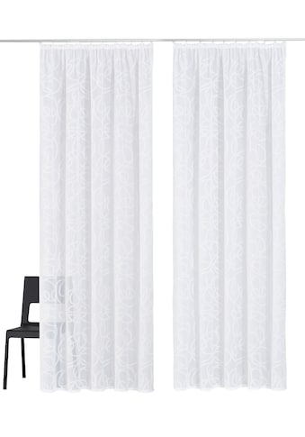 my home Gardine »Tanaro«, Vorhang, Fertiggardine, transparent kaufen