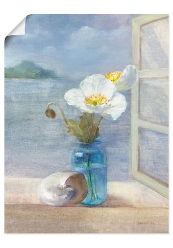 Artland Wandbild »Küsten Blumen II«, Arrangements, (1 St.), in vielen Grössen &... kaufen