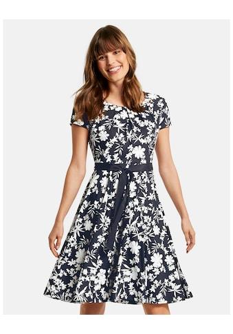 Taifun Kleid Gewirke »Slinkykleid mit Floral - Print« kaufen