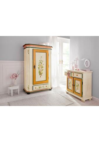 Home affaire Kleiderschrank »Zitrone«, mit schönem handgemalten Zitronengemälde,... kaufen