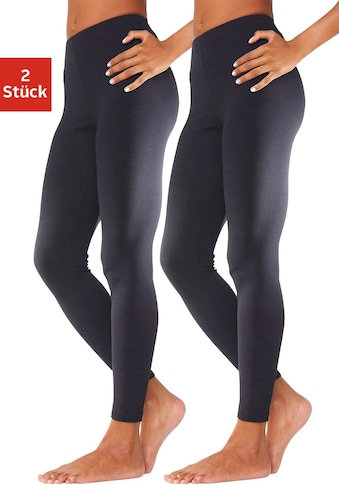 vivance active Leggings, (2er-Pack), mit Gummibund kaufen