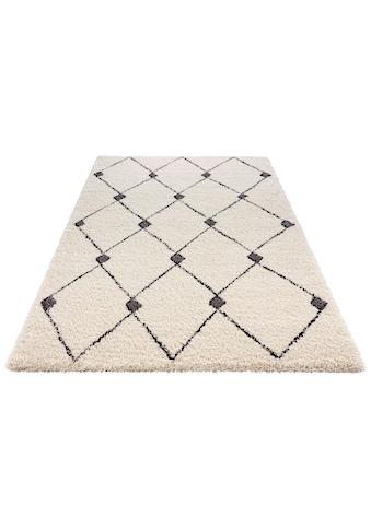 Hochflor - Teppich, »Create«, MINT RUGS, rechteckig, Höhe 35 mm, maschinell gewebt kaufen