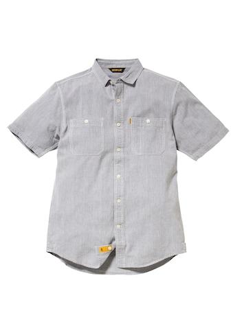 CATERPILLAR Kurzarmhemd »Fundamental Herren Hemd, Kurzarm« kaufen