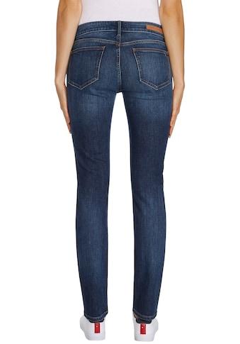 Tommy Hilfiger Slim-fit-Jeans »HERITAGE MILAN SLIM LW«, mit Tommy Hilfiger Logo-Badge kaufen