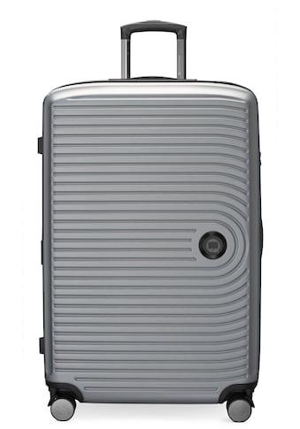 Hauptstadtkoffer Hartschalen-Trolley »Mitte, silberfarben, 77 cm«, 4 Rollen kaufen