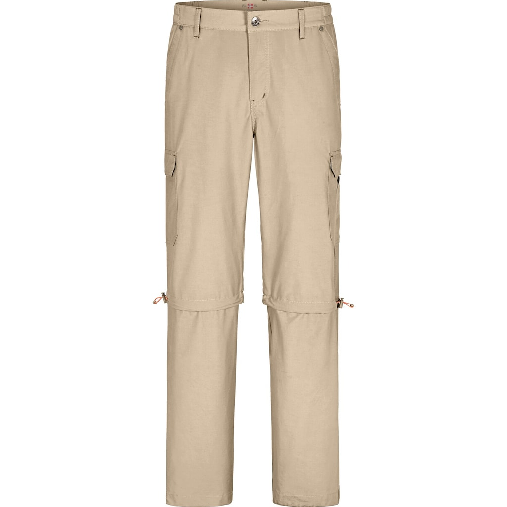 Jan Vanderstorm Outdoorhose »BALDURAN«, mit abzippbaren Hosenbeinen