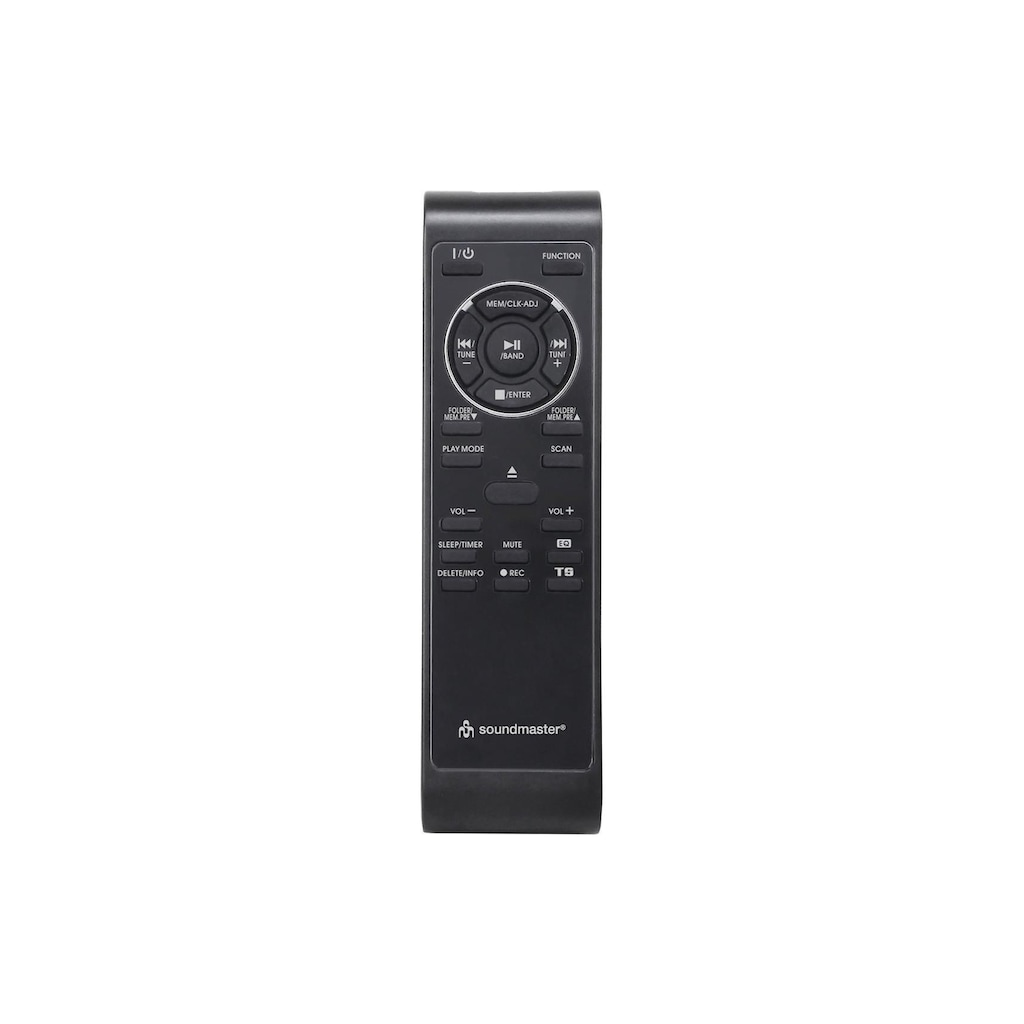 Soundmaster Stereoanlage »MCD5550DBR Braun«