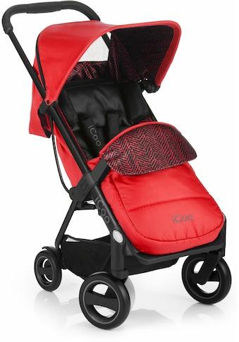 iCoo Kinder-Buggy »Acrobat Fishbone Red«, mit leichtem und stylischem... kaufen