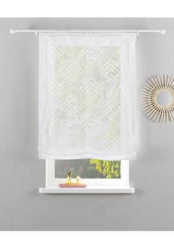 Guido Maria Kretschmer Home&Living Raffrollo »Gordon«, mit Klettband, transparent,... kaufen