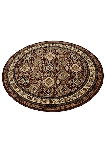 my home Teppich »Diantha«, rund, 9 mm Höhe, Orient - Dekor, Wohnzimmer kaufen