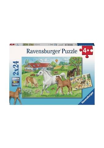 Ravensburger Puzzle »Auf dem Pferdehof« kaufen