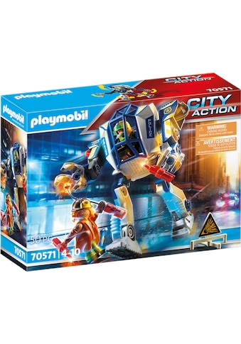 Playmobil® Konstruktions-Spielset »Polizei-Roboter: Spezialeinsatz (70571), City Action«, Made in Germany kaufen
