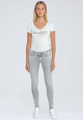 Pepe Jeans Skinny-fit-Jeans »PIXIE«, im 5-Pocket-Stil mit Stretch-Anteil und... kaufen