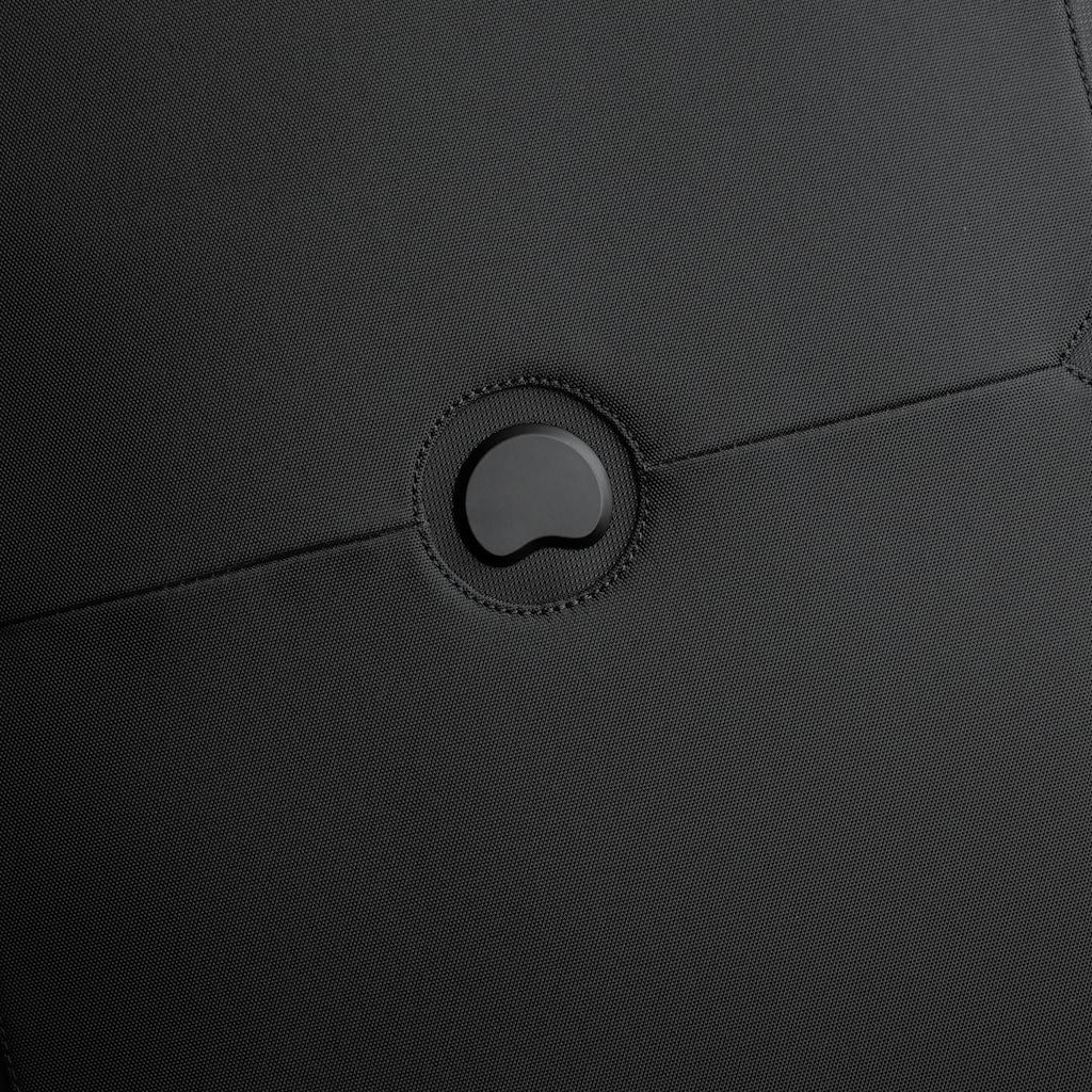 Delsey Weichgepäck-Trolley »Mercure Slim Line, 55 cm, black«, 4 Rollen