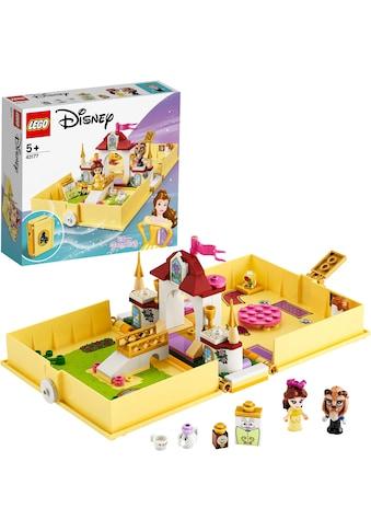 """LEGO® Konstruktionsspielsteine """"Belles Märchenbuch (43177), LEGO® Disney Princess™"""", Kunststoff, (111 - tlg.) kaufen"""