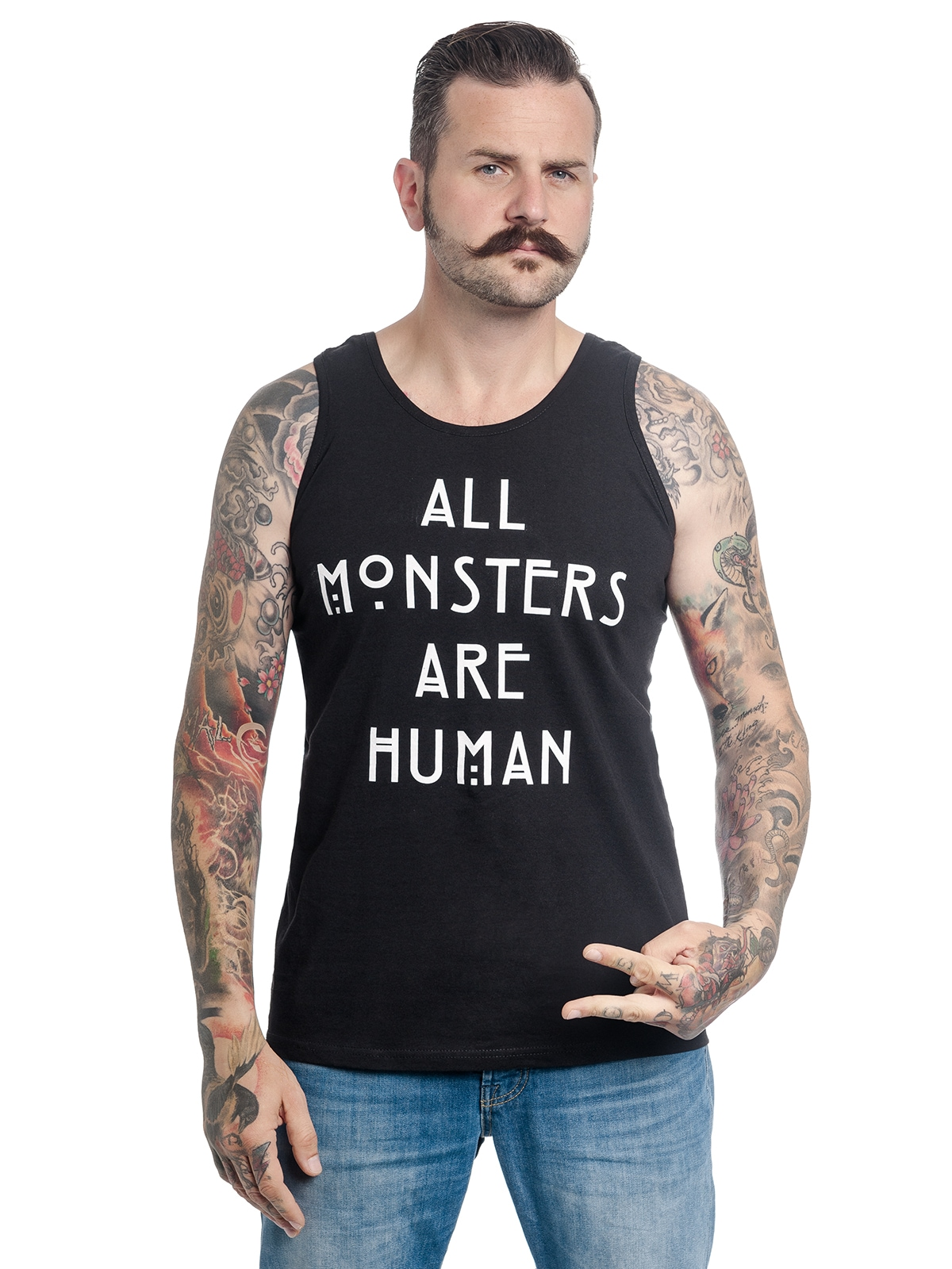 Image of American Horror Story T-Shirt »American Horror Story All Monsters«