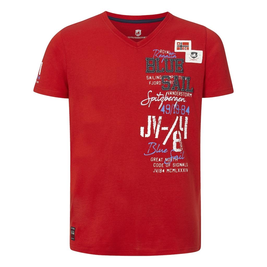 Jan Vanderstorm T-Shirt »KOLBJORN«, komfortable Passform