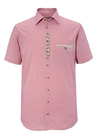 OS-Trachten Trachtenhemd, mit Edelweiss- Stickerei kaufen