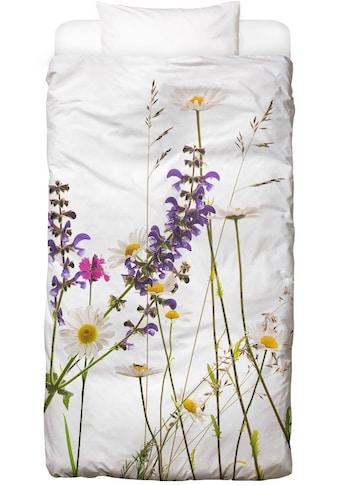 Juniqe Bettwäsche »Flora - Margerite«, In vielen weiteren Designs erhältlich kaufen
