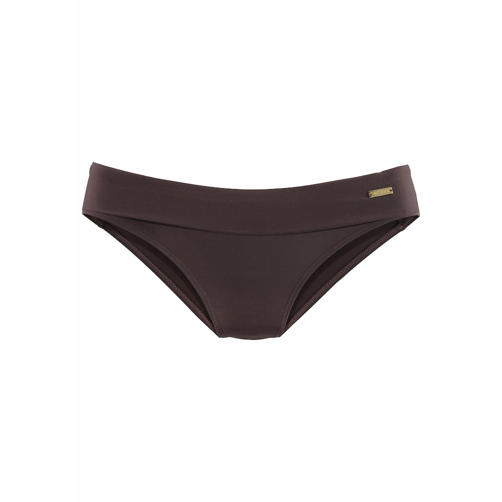 LASCANA Bikini-Hose »Italy«, mit Umschlagbund