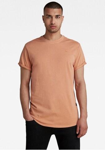 G-Star RAW Rundhalsshirt »Lash r t s\s Compact slub jersey« kaufen