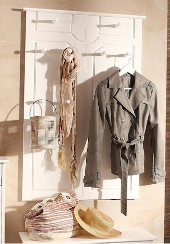 Home affaire Garderobenpaneel »Klera«, Mit 10 Kleiderhaken kaufen